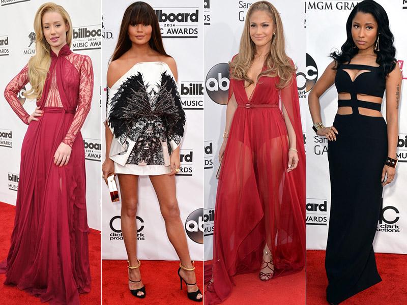 2014 Billboard Music Awards Red Carpet Style