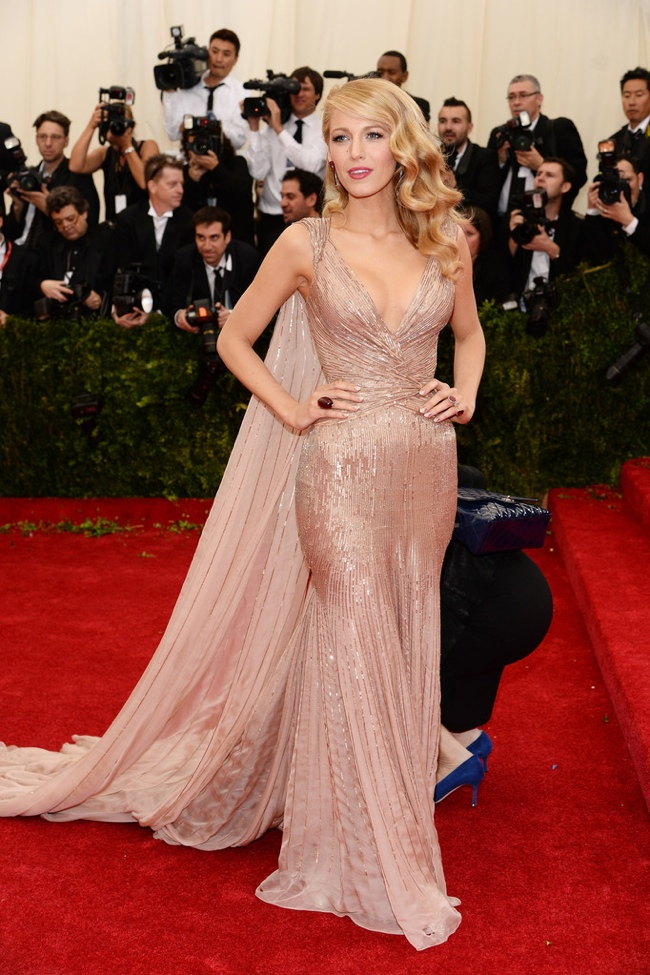 Blake Lively shines in Gucci Premiere gown