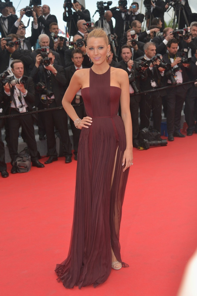 Blake Lively wore a Gucci Premiere gown