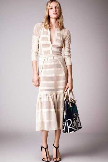 Burberry's Resort 2015 Line is Inspired by Poetry, Book Covers