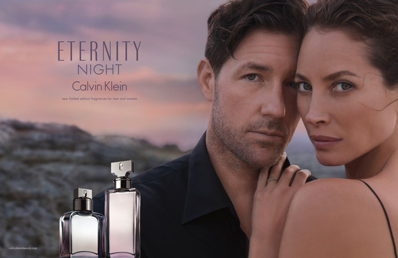 calvin klein eternity 2014 fragrance christy turlington 2 Christy Turlington is Back for Calvin Klein ETERNITY Fragrance Ads