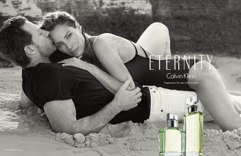 Christy Turlington is Back for Calvin Klein ETERNITY Fragrance Ads