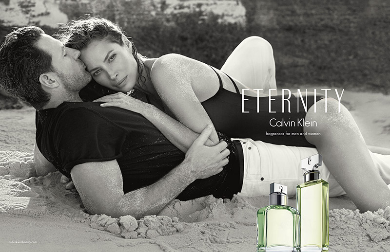 calvin klein eternity 2014 fragrance christy turlington Christy Turlington is Back for Calvin Klein ETERNITY Fragrance Ads