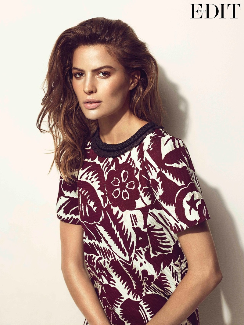 cameron russell photo shoot2 Cameron Russell Talks Feminism, Beauty Retouching in The Edit Feature