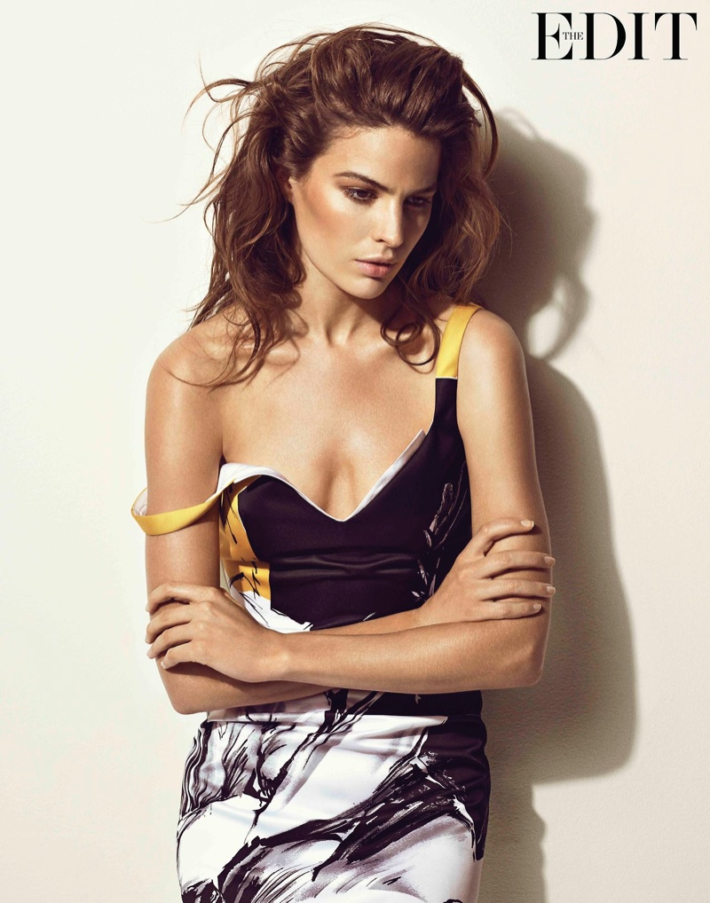 cameron russell photo shoot4 Cameron Russell Talks Feminism, Beauty Retouching in The Edit Feature