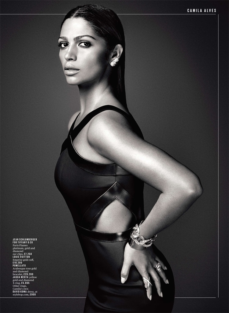 camila alves photo shoot5 Camila Alves Stuns in Deluxe Photo Shoot by David Roemer