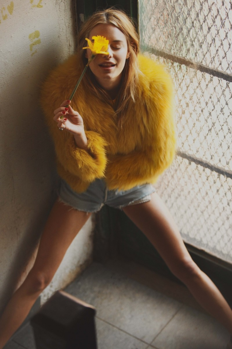 This Charming Girl: Camille Rowe Poses for Guy Aroch in So It Goes Magazine