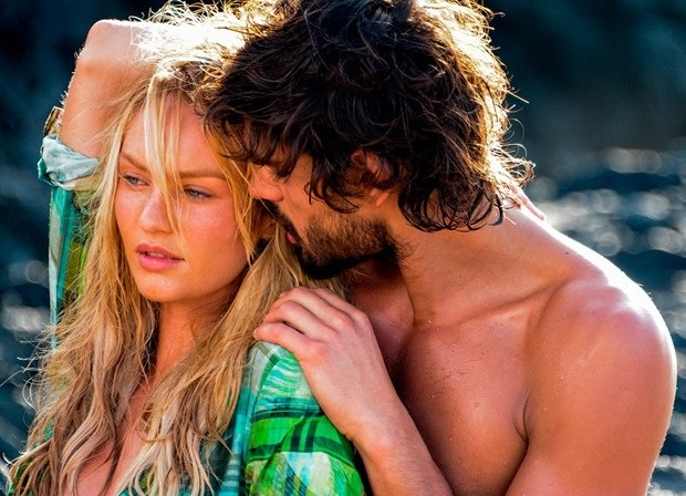 Candice Swanepoel Gets Steamy Behind the Scenes of Upcoming Osmoze Shoot