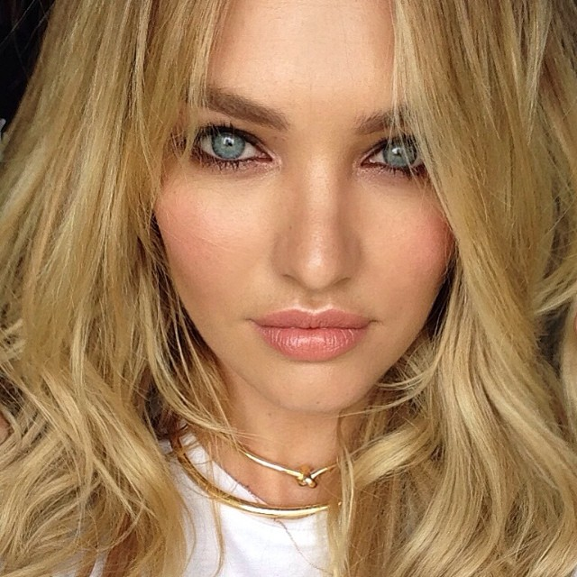 candice closeup Pretty Faces: 15 Model Beauty Selfies