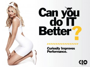 Candice Swanepoel Fronts Cheeky Campaign for Kio Networks