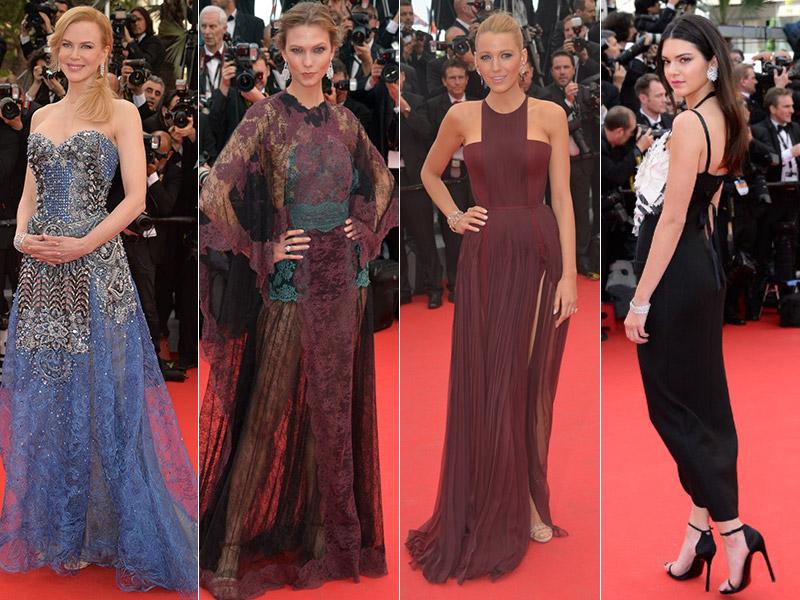 Cannes Day 1 Style: Kendall Jenner, Blake Lively, Nicole Kidman, Karlie Kloss + More Stars