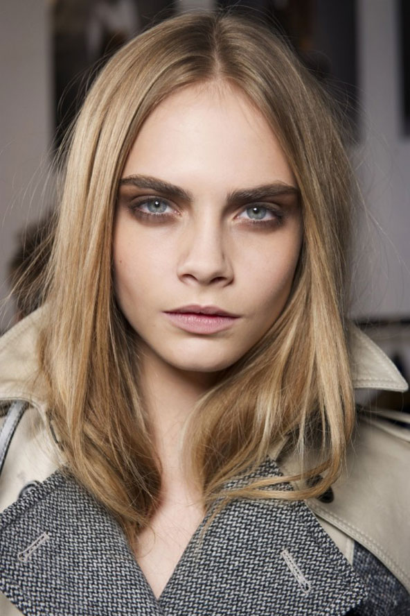 Image: Cara Delevingne at Burberry