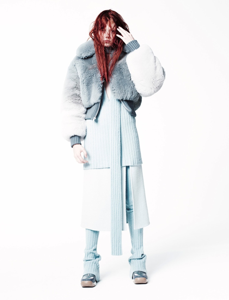 (Womenswear Designer Nominee) Natalie Westling wears Marc Jacobs