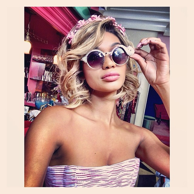 chanel blonde wig Instagram Photos of the Week | Candice Swanepoel, Toni Garrn + More Models