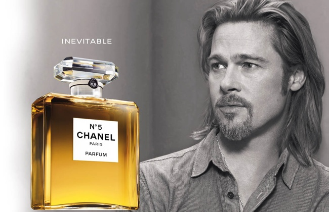 chanel no 5 brad pitt ad photo TBT | Five Chanel No. 5 Campaigns   From Brad Pitt to Nicole Kidman