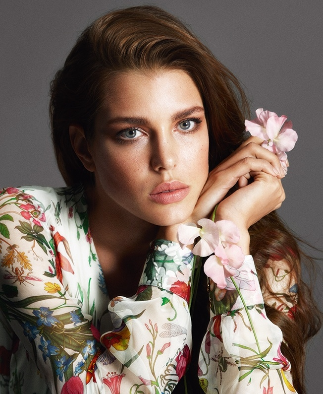 charlotte gucci forever now Gucci Launching Cosmetics Line With Charlotte Casiraghi as the Face