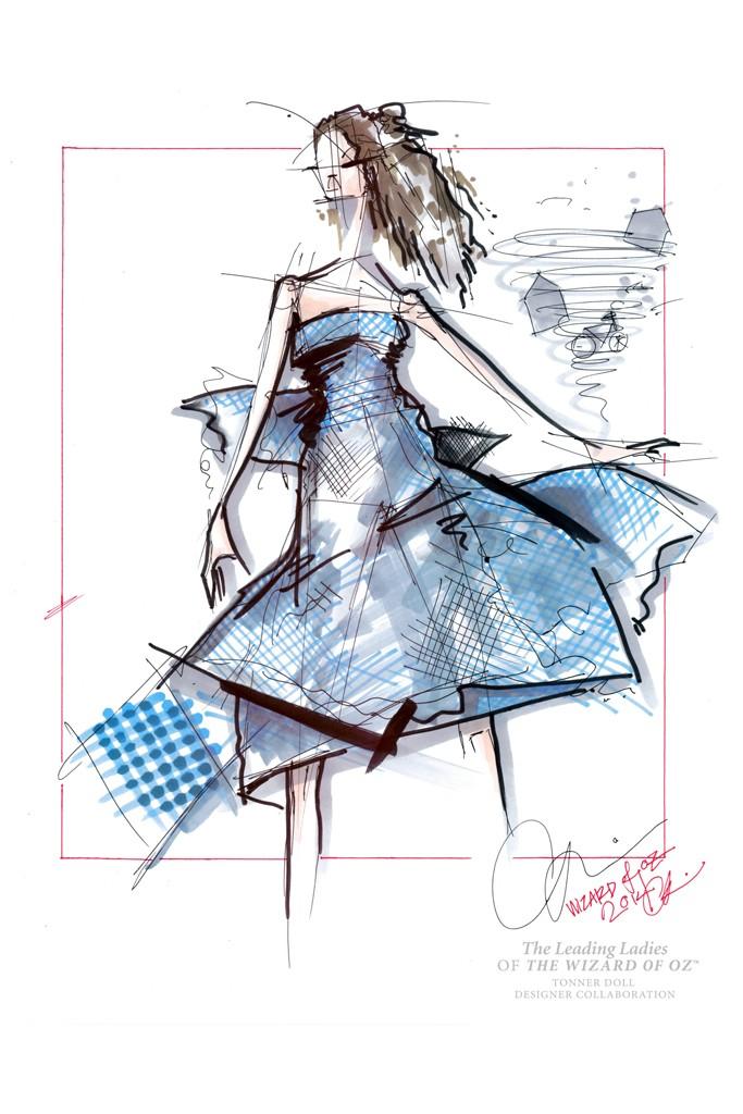 Chris Benz reimagines Dorothy Gale