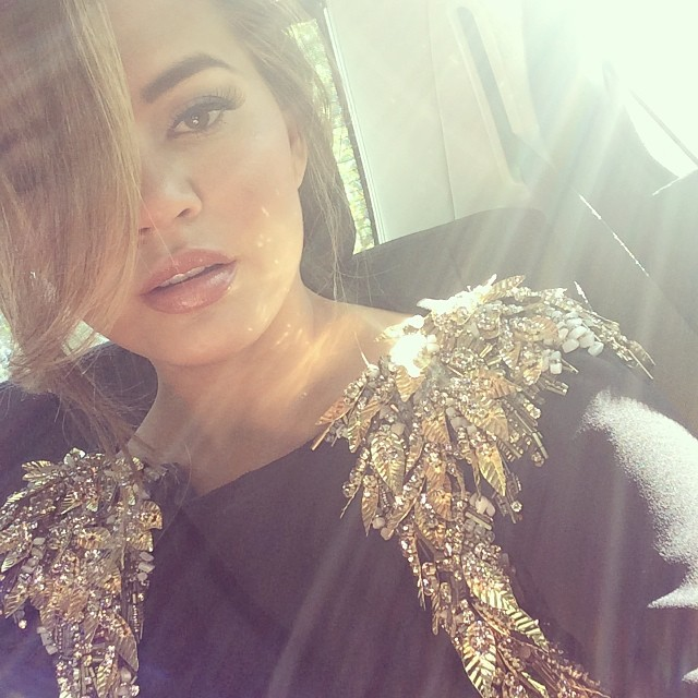 EMBRACE THE SUN: A little natural light can really make all the difference. A dark and dim selfie is hard to look at and probably won't let your natural beauty shine through. Chrissy Teigen shows how to embrace the sun in this Instagram.