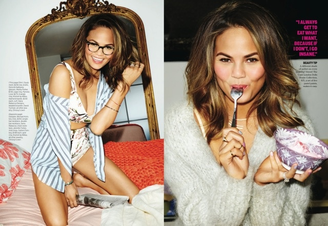 chrissy teigen cosmo shoot4 More Photos of Chrissy Teigens Delicious Cosmopolitan Shoot