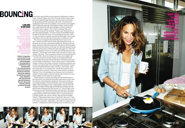 chrissy teigen cosmo shoot5 More Photos of Chrissy Teigens Delicious Cosmopolitan Shoot