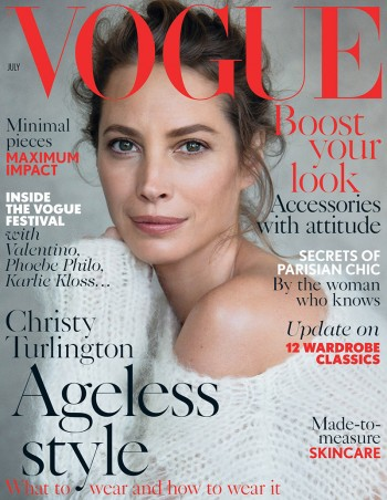 See Christy Turlington's First Vogue UK Cover in 18 Years