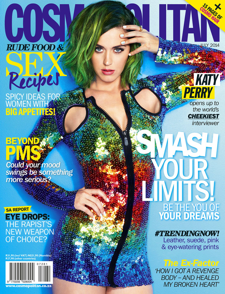 cos 05 new zealand katy cover Katy Perry to Cover All 62 Editions of Cosmopolitan for July