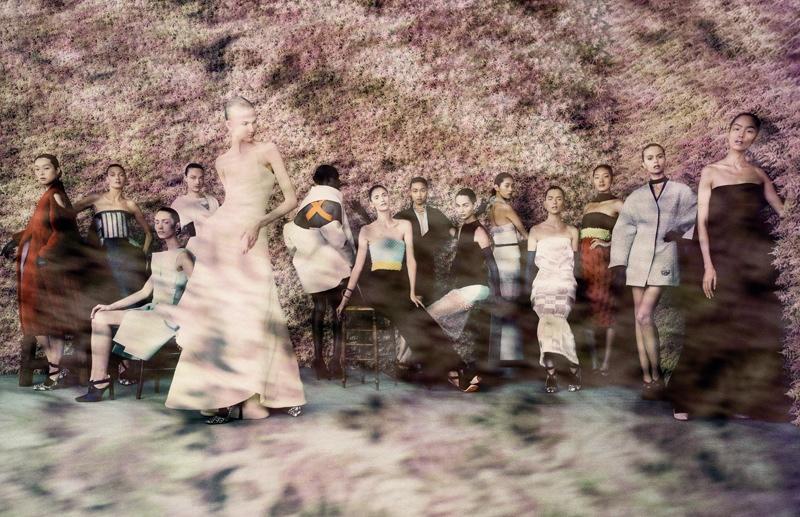 Paolo Roversi, 2013. Mode les de la collection Haute Couture automne-hiver 2013.