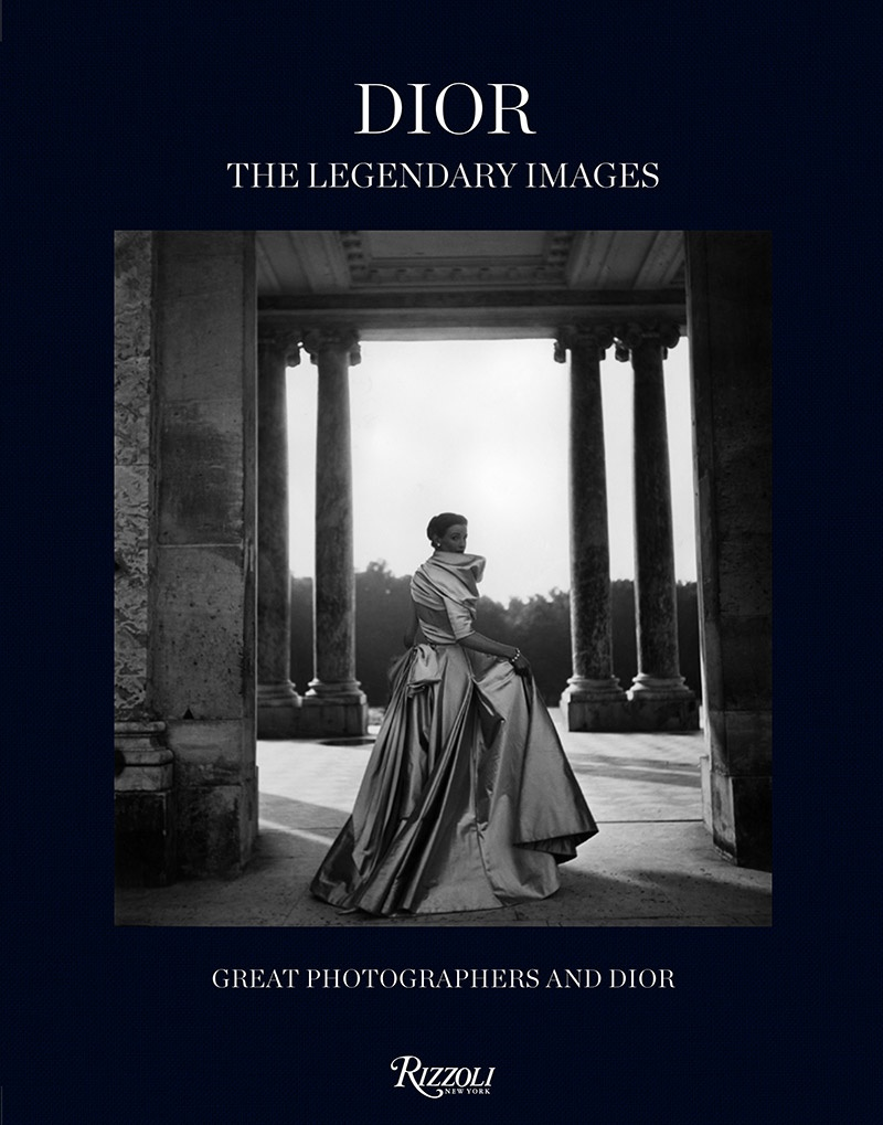 BOOK COVER. © Dior: The Legendary Images Rizzoli New York, 2014.