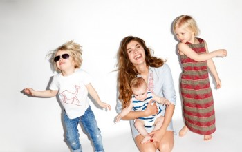 "Elisa Sednaoui Designs Mother & Kids ""Little-A-Like"" Line for Yoox"