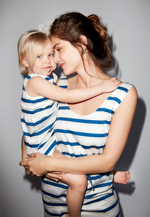 elisa sednaoui kids clothing yoox4 Elisa Sednaoui Designs Mother & Kids Little A Like Line for Yoox