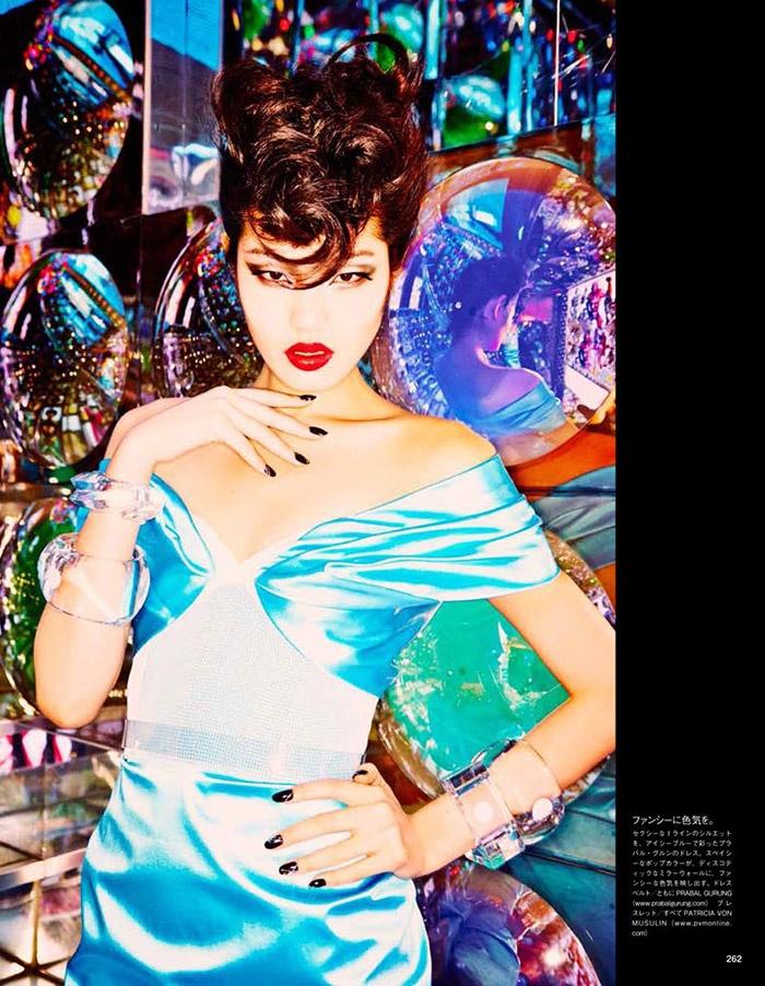 ellen von unwerth tokyo10 Chiharu Okunugi Takes Tokyo for Vogue Japan by Ellen von Unwerth