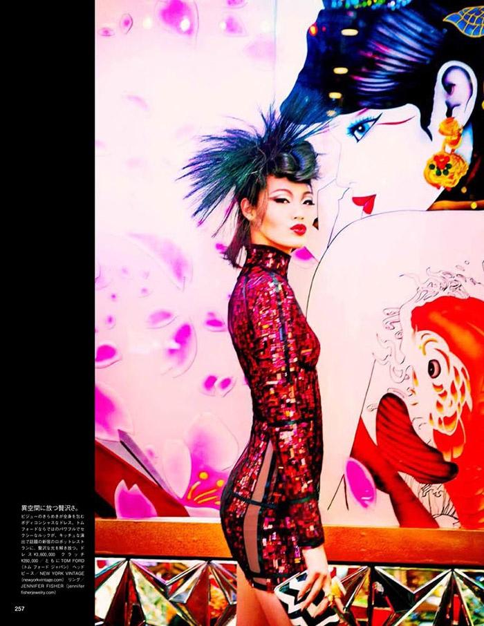 ellen von unwerth tokyo3 Chiharu Okunugi Takes Tokyo for Vogue Japan by Ellen von Unwerth