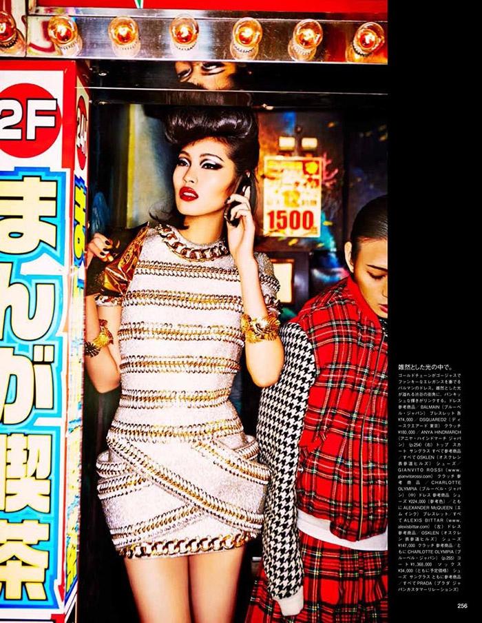 ellen von unwerth tokyo4 Chiharu Okunugi Takes Tokyo for Vogue Japan by Ellen von Unwerth