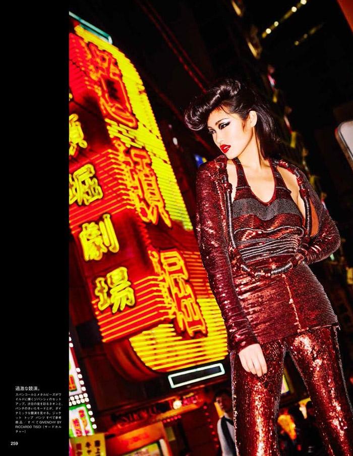 ellen von unwerth tokyo5 Chiharu Okunugi Takes Tokyo for Vogue Japan by Ellen von Unwerth