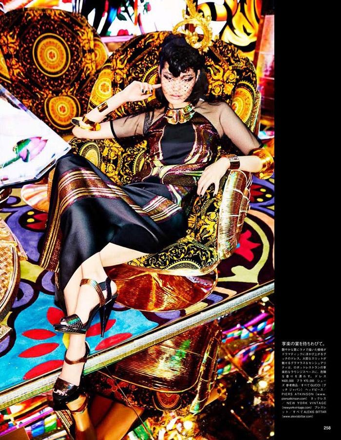 ellen von unwerth tokyo6 Chiharu Okunugi Takes Tokyo for Vogue Japan by Ellen von Unwerth