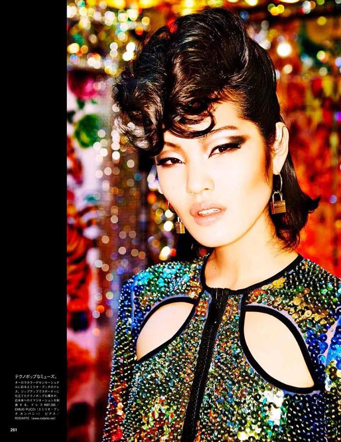 ellen von unwerth tokyo7 Chiharu Okunugi Takes Tokyo for Vogue Japan by Ellen von Unwerth