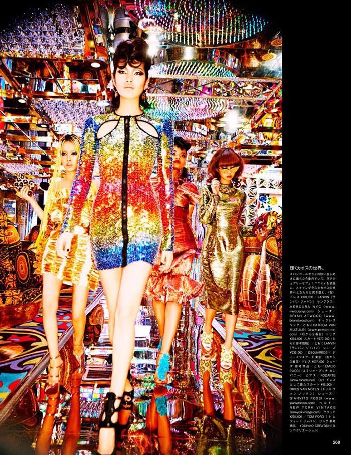 ellen von unwerth tokyo8 Chiharu Okunugi Takes Tokyo for Vogue Japan by Ellen von Unwerth