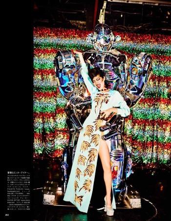 Chiharu Okunugi Takes Tokyo for Vogue Japan by Ellen von Unwerth