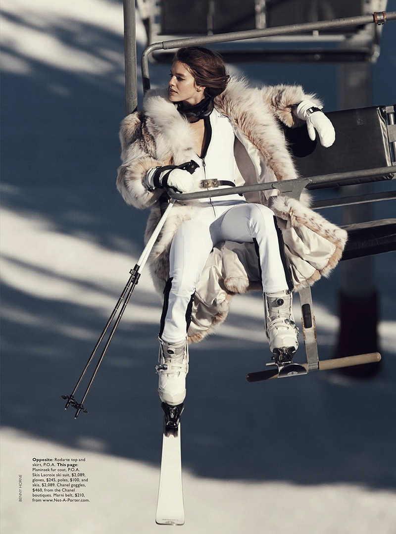 emily didonato benny horne11 Emily DiDonato Hits the Slopes for Vogue Australia Shoot by Benny Horne