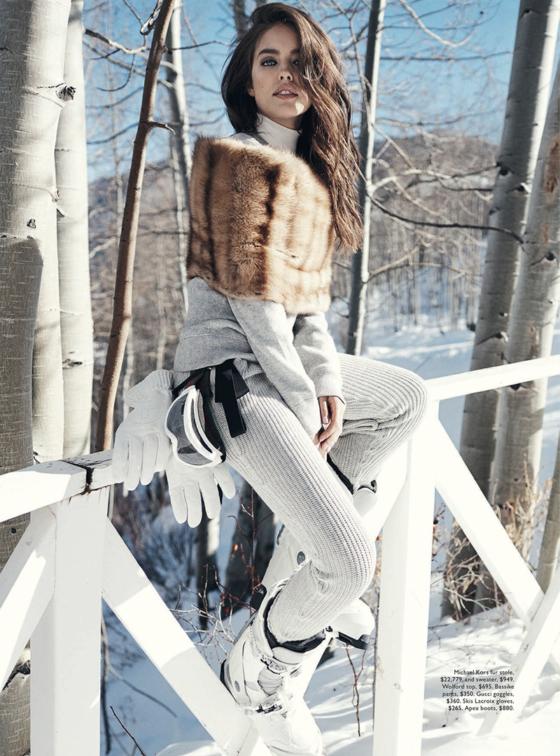 emily didonato benny horne3 Emily DiDonato Hits the Slopes for Vogue Australia Shoot by Benny Horne