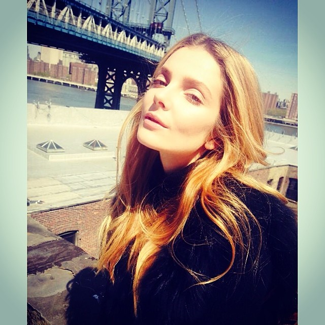 Eniko Mihalik shares a snap from Brooklyn