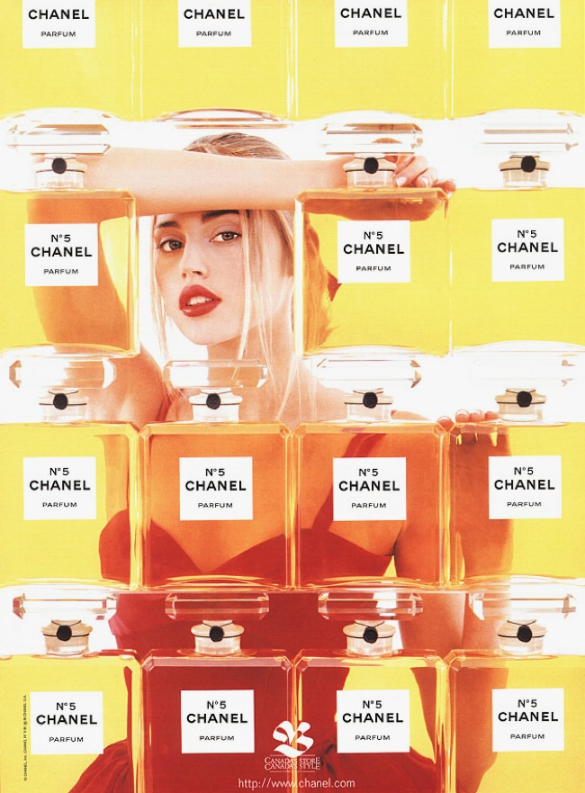 Estella Warren for Chanel No. 5 (1998)
