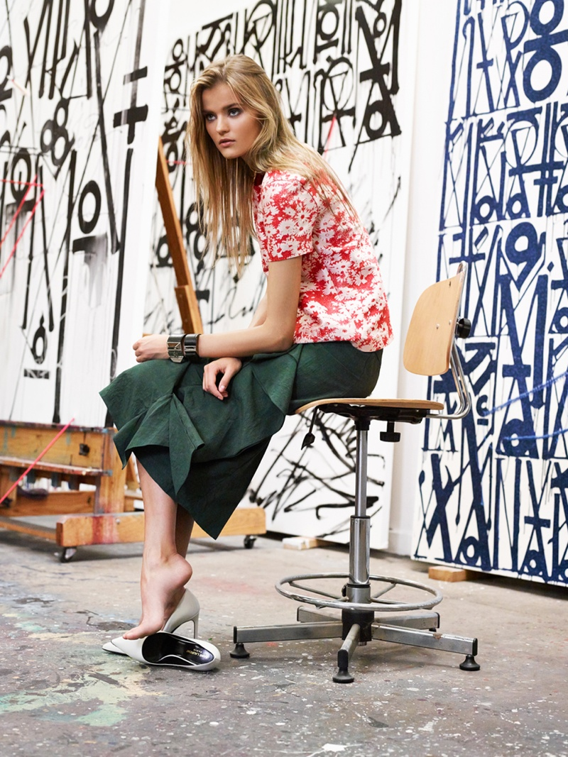 forward gallery girl photos3 Gallery Girl: Kate Grigorieva Wears New Selections from FORWARD by Elyse Walker