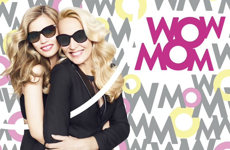 georgia may jerry hall sunglass hut4 Georgia May Jagger & Jerry Hall Team Up for Sunglass Hut Campaign