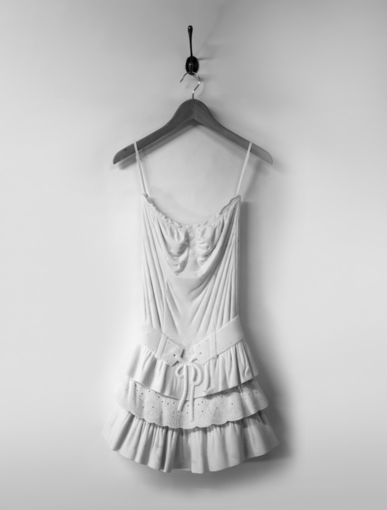 greta dress marble sculpture alasdair thomson Sculptor Makes Dresses Out of Marble—See the Looks!