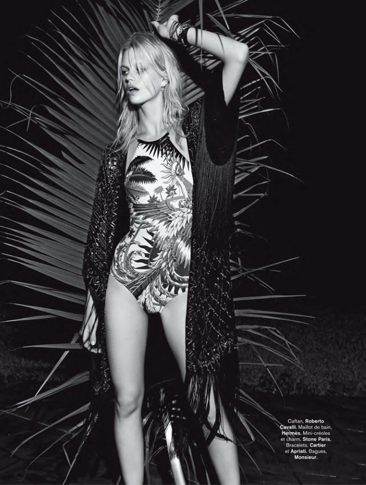 hilary walsh shoot22 Nadine Leopold is Summer Ready for Glamour France Spread by Hilary Walsh