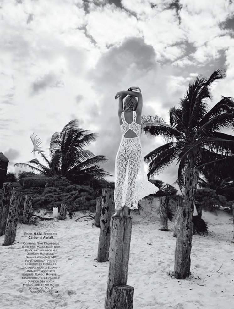 hilary walsh shoot23 Nadine Leopold is Summer Ready for Glamour France Spread by Hilary Walsh
