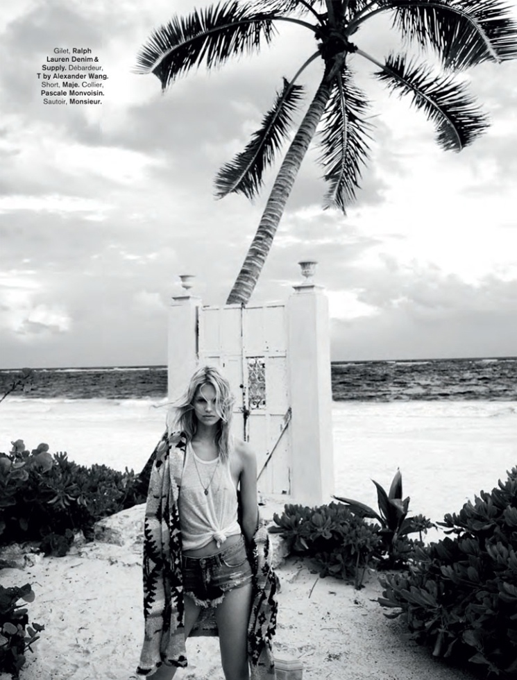 hilary walsh shoot4 Nadine Leopold is Summer Ready for Glamour France Spread by Hilary Walsh