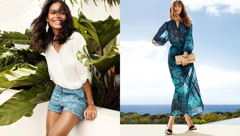 hm vibrant summer2 Frida Gustavsson + Emanuela de Paula Star in H&M Summer Style Update