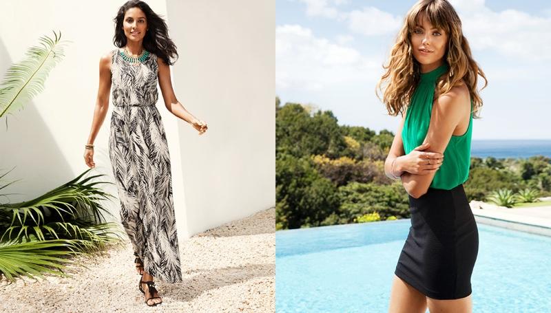 hm vibrant summer5 Frida Gustavsson + Emanuela de Paula Star in H&M Summer Style Update